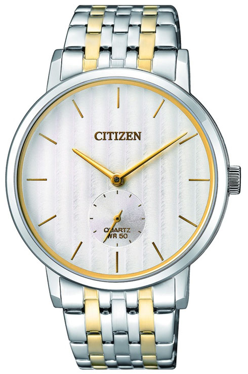 citizen quartz white dial be9174-55a watch for men-BE9174-55A
