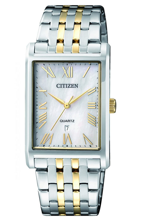 Citizen Quartz Mother Of Pearl Dial Men's Watch BH3004-59D-BH3004-59D