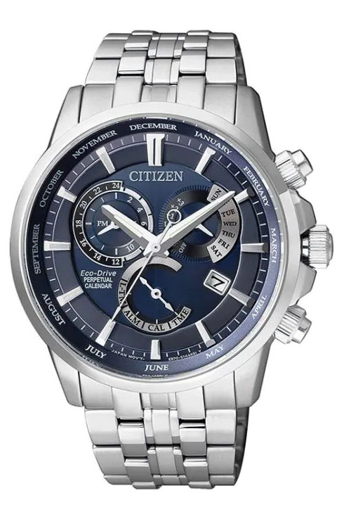 Citizen Eco-Drive Perpetual Calendar BL8140-80L Men's Watch-BL8140-80L