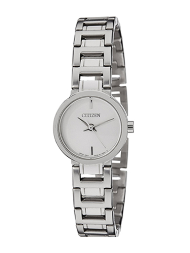 Citizen Quartz Silver Dial EX0330-56A Women's Watch-EX0330-56A