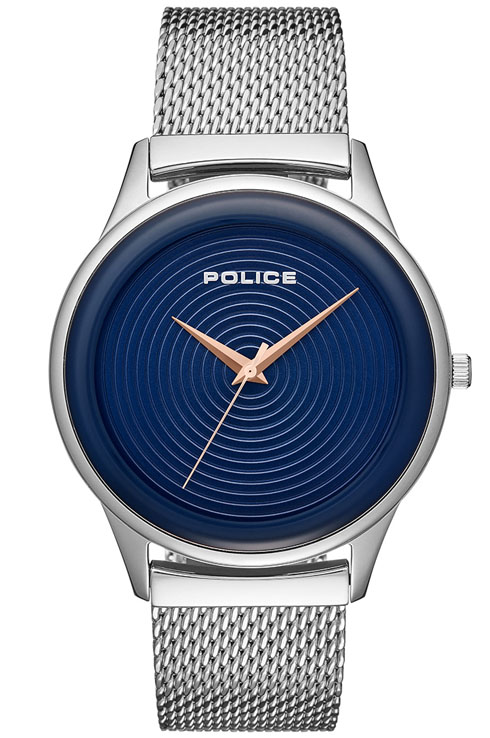 Police Mens Smart Style Stainless Steel Watch-PL15524JS03MM