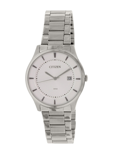Citizen Analog White Dial Watch For Men-BD0040-57A