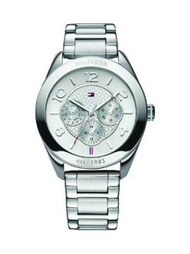 Tommy Hilfiger White Dial Silver Metal NTH1781215J Women's Watch-NTH1781215J
