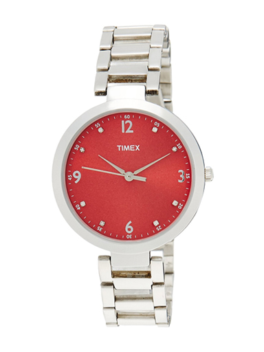 timex fashion red dial women watch tw000x203-TW000X203