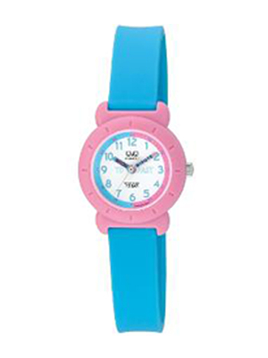 Q&Q Analog White Dial Watch For Children's-VP81J016Y