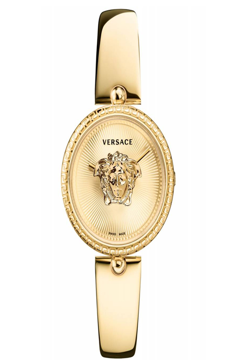 versace palazzo empire yellow gold ladies watch-VECQ00618