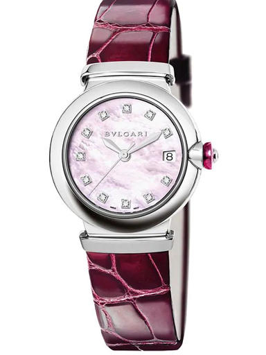 Bvlgari Lvcea Mother Of Pearl Dial Watch-102609
