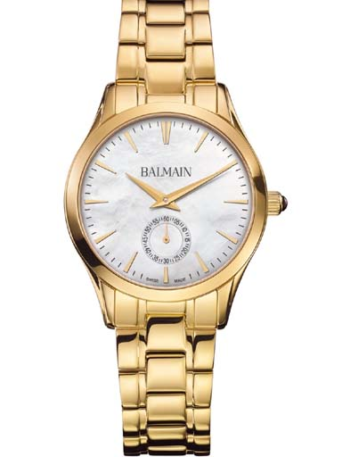 balmain classic r lady small second watch-B4710.33.86