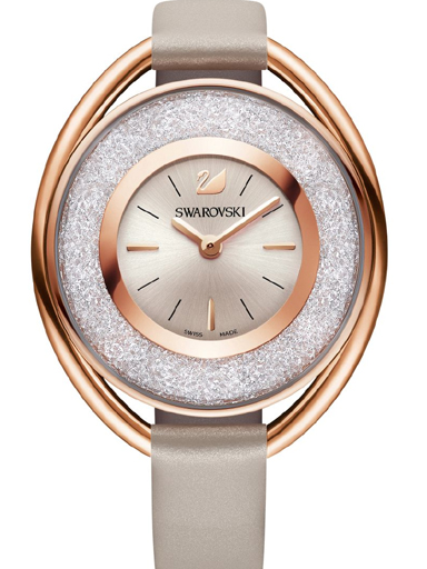 Swarovski Crystalline Rose Gold-tone Ladies Watch-SW5158544
