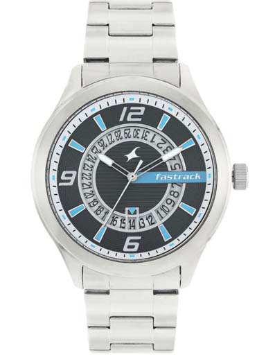 fastrack 38050sm02 men's watch-38050SM02