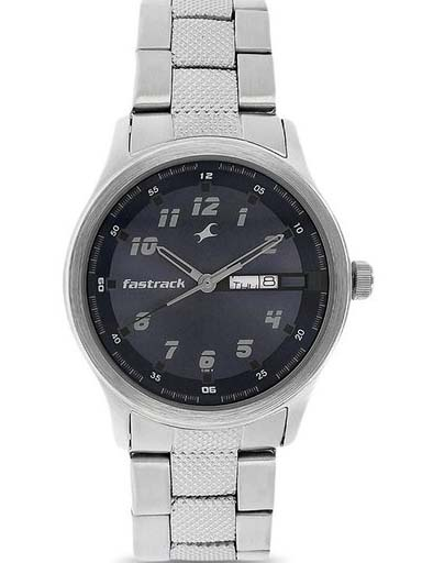 fastrack nk3001sm02 men's watch-NK3001SM02
