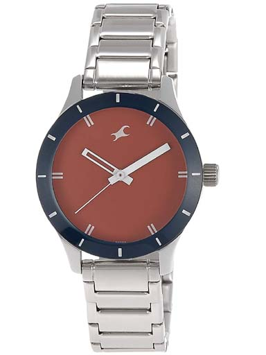 Fastrack NK6078SM05 Women's Watch-NK6078SM05