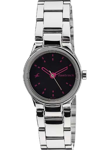fastrack nk6114sm02 women's watch-NK6114SM02