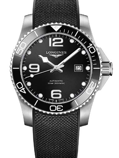 Longines Hydro Conquest Black Dial Automatic Men's Watch-L37824569
