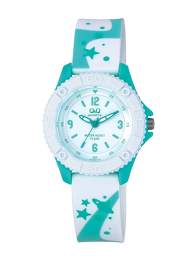 Q&Q Pixie White Colour Dial Children's Analog Watch-VQ96J021Y
