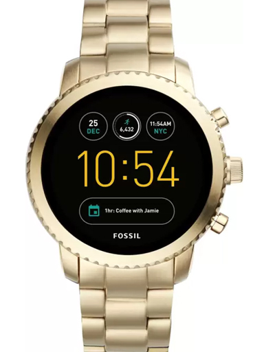 Fossil FTW4010 Smartwatch for Men-FTW4010
