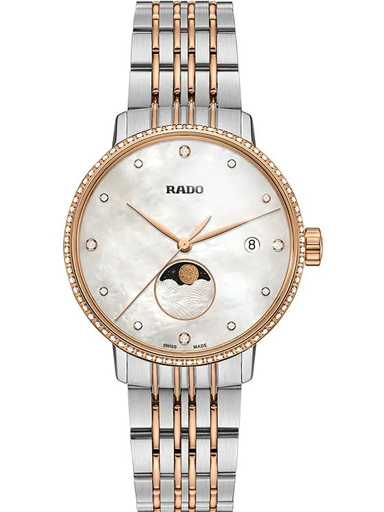 Rado Coupole Classic MOP Dial Moon Phase Women's Watch-R22882923