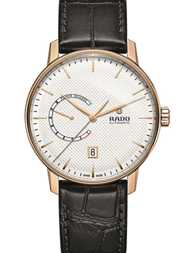 Rado Coupole Classic Automatic Silver Dial Date Men's Watch-R22879025