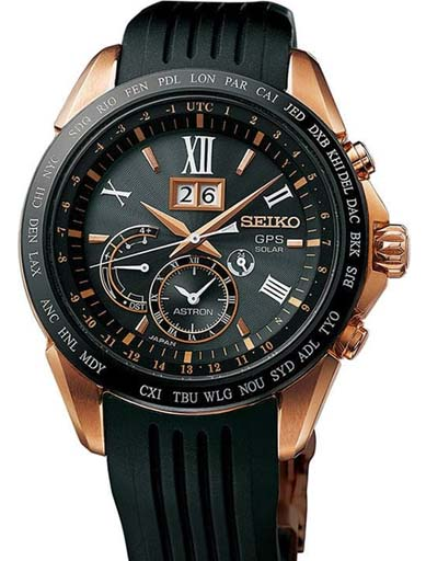 Seiko Astron GPS Solar SSE153J1 Watch for Men-SSE153J1