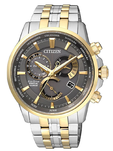Citizen Eco-Drive Perpetual Calendar BL8144-89H Watch For Men-BL8144-89H