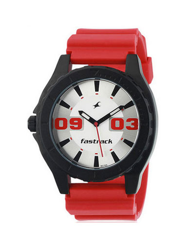 Fastrack Red Color Unisex Watch-NE9462AP02J