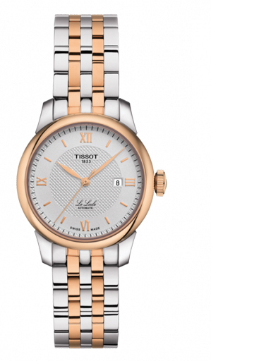 Tissot Le Locle Automatic Silver Dial Stainless Steel Women's Watch-T0062072203800