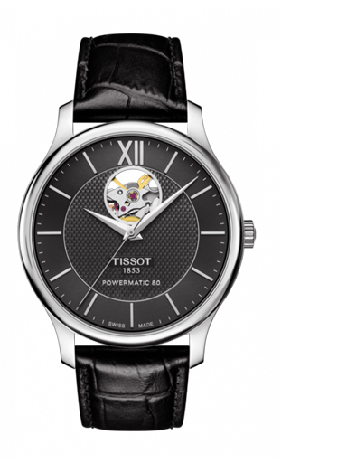 Tissot Tradition Powermatic 80 OpenHeart T0639071605800-T0639071605800