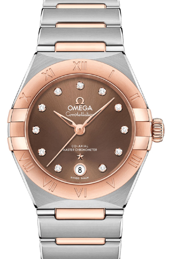 Omega Constellation Manhattan Chronometer Watch-O13120292063001