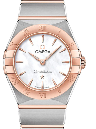 Omega Constellation Manhattan Quartz 25MM-O13120256005001