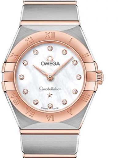 Omega Constellation Manhattan Diamonds Watch-O13120256055001