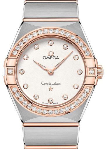 Omega Constellation Manhattan Round Dial Watch-O13125286052001
