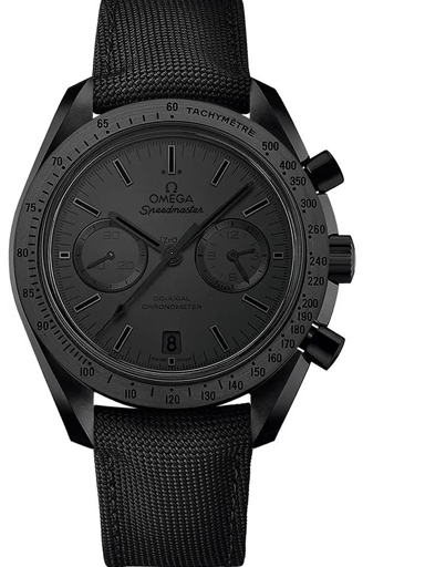 Omega Speedmaster Moonwatch Black Dial Watch-O31192445101005