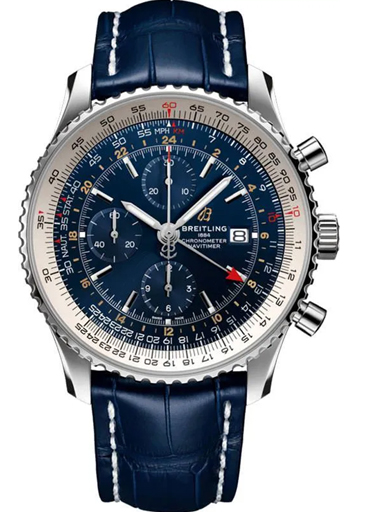 breitling navitimer chronograph gmt automatic men's watch-A24322121C2P2