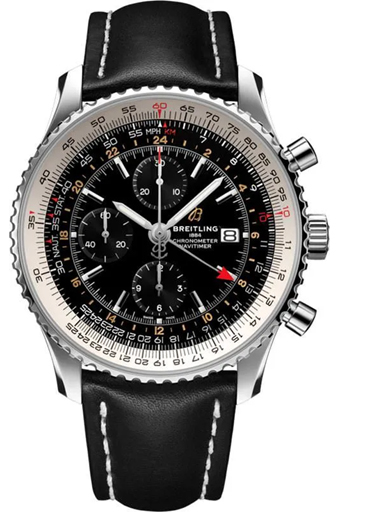 Breitling Navitimer Chronograph GMT Watch-A24322121B2X2