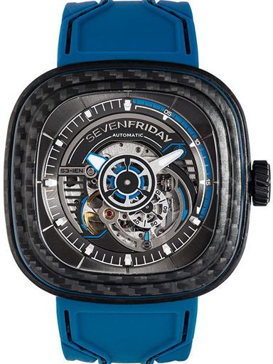 SevenFriday S-Seris S3/02 Carbon Limited Edition Watch-S3/02