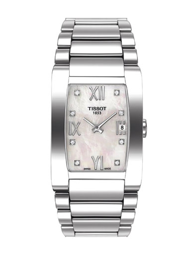 Tissot T-Trend Generosi-T Quartz Stainless Steel Women's Watch-T0073091111600