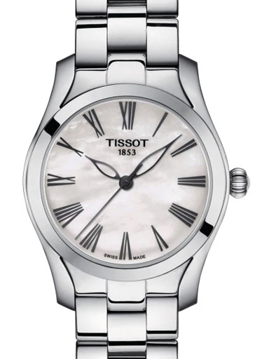 tissot t-wave women's swiss quartz watch-T1122101111300
