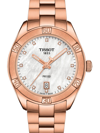 Tissot PR 100 Sport Chic Swiss Quartz Women's Watch-T1019103311600