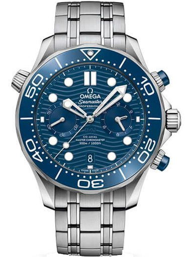 Omega Seamaster Driver 300M Co-Axial Master 44 MM Blue Dial Men's Watch-O21030445103001