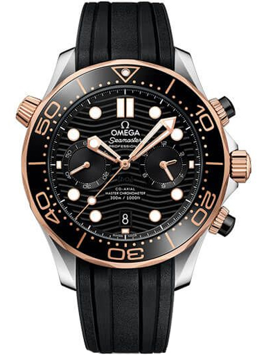 Omega Seamaster Driver 300M Co-Axial Master 44 MM Chronometer Men's Watch-O21022445101001