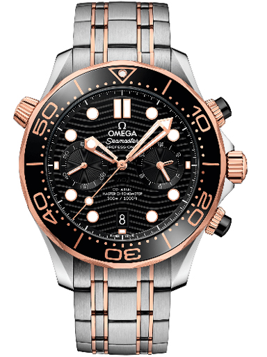Omega Seamaster Driver 300M Co-Axial Master Chronometer Black Dial Men's Watch-O21020445101001