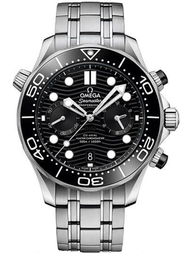 Omega Seamaster Diver 300 M Co-Axial Master Chronometer Watch For Men-O21030445101001