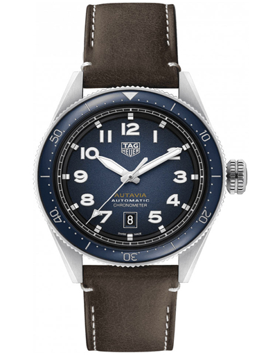 Tag Heuer Autavia Calibre 5 Chronometer Men's Watch-WBE5116.FC8266