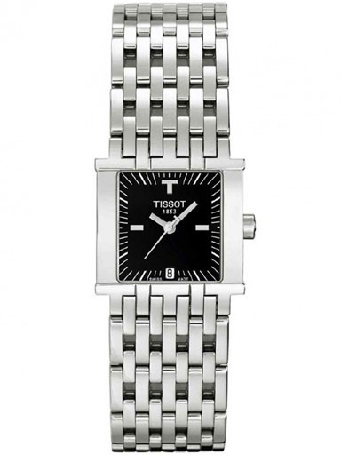 Tissot T Lady Six-T Women's Quartz Stainless Steel Watch-T02.1.181.51 T