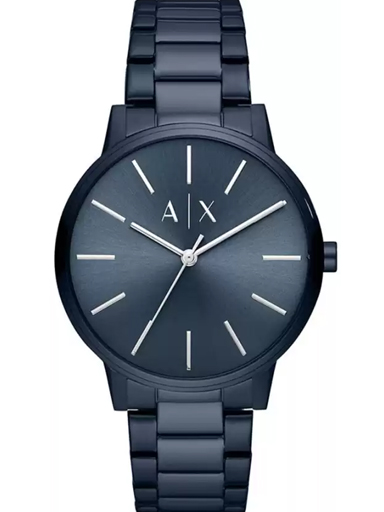 Armani Exchange Cayde Analog Blue Dial Men's Watch-AX2702I