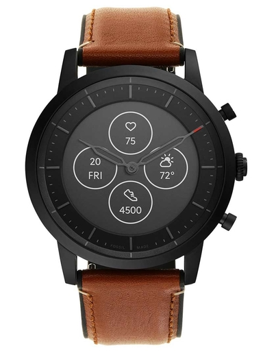 Fossil Hybrid Smartwatch HR Collider Tan Leather-FTW7007