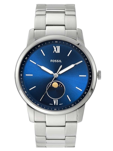 Fossil The Minimalist Moonphase Multifunction Stainless Steel Watch-FS5618I