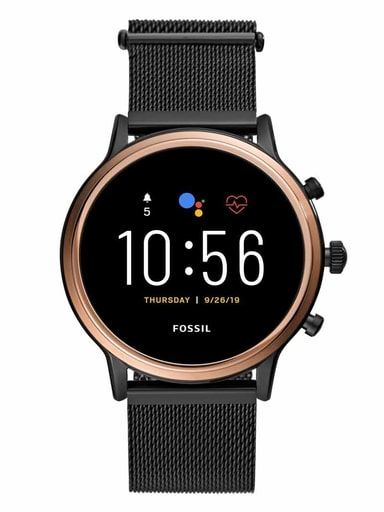 fossil q gen 5 round multi colored dial unisex smartwatch-FTW6036