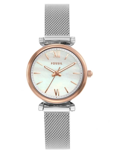 Fossil Carlie Mini Multi Color Dial Stainless Steel Watch-ES4614I