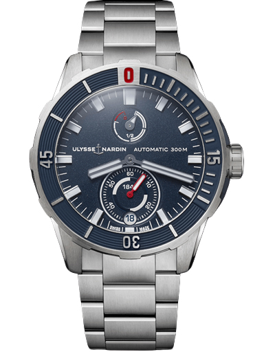 Ulysse Nardin Diver Chronometer Automatic Blue Dial Men's Watch 1183-170-7M/93-1183-170-7M/93